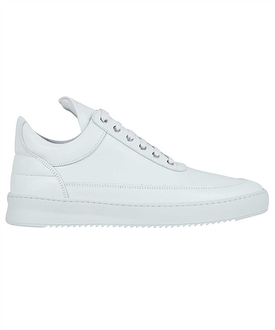 Filling Pieces 25121721855 LOW TOP RIPPLE NAPPA ALL WHITE Tenisky 1