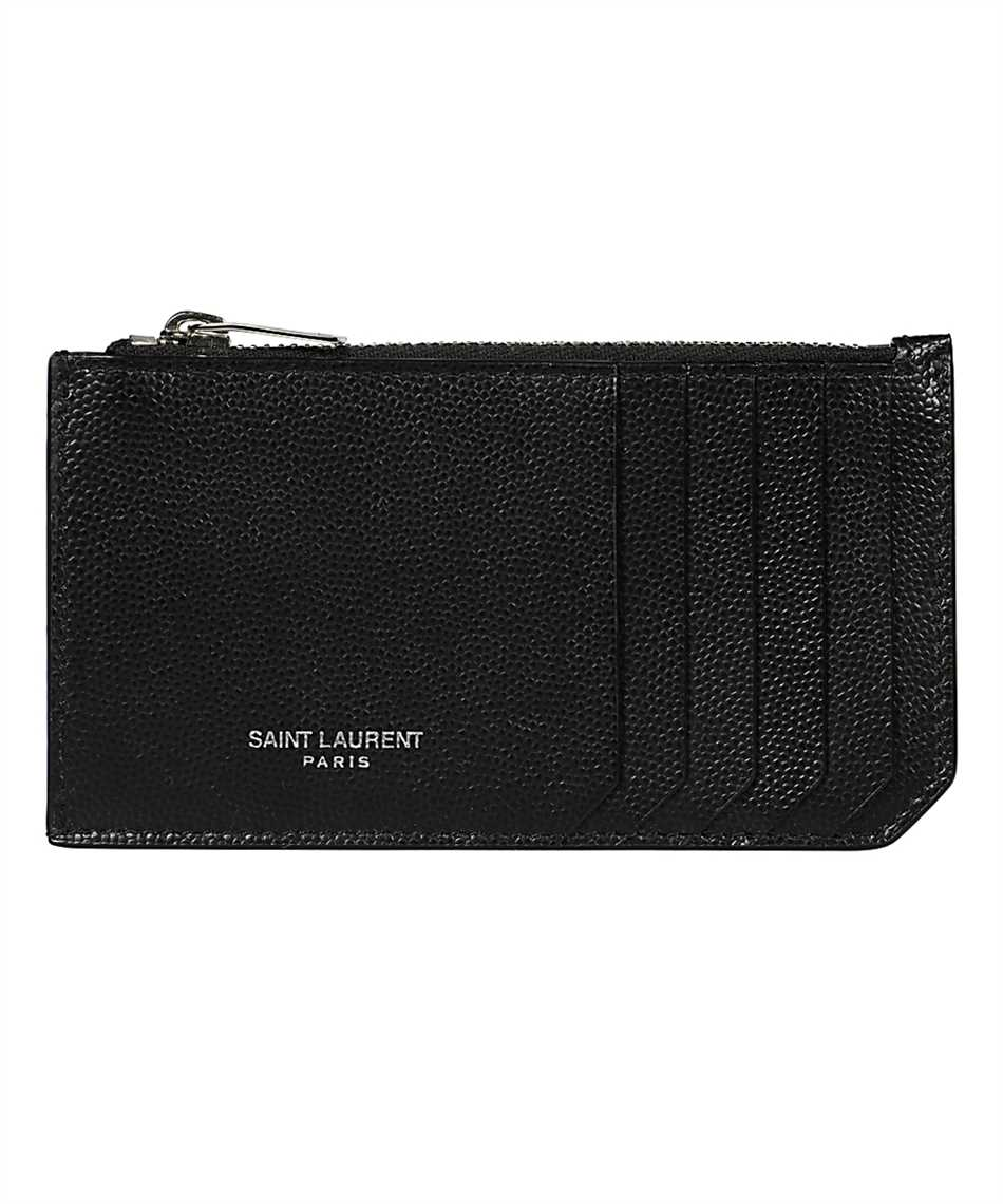 Saint Laurent 609362 BTY0N FRAGMENT ZIPPED Púzdro na karty 1