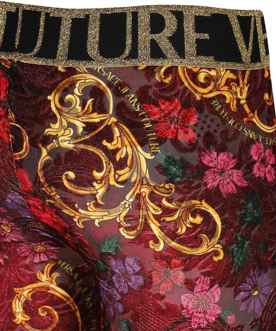 Versace Jeans Couture D5HZB161 S0958 PRINT Nohavice 3