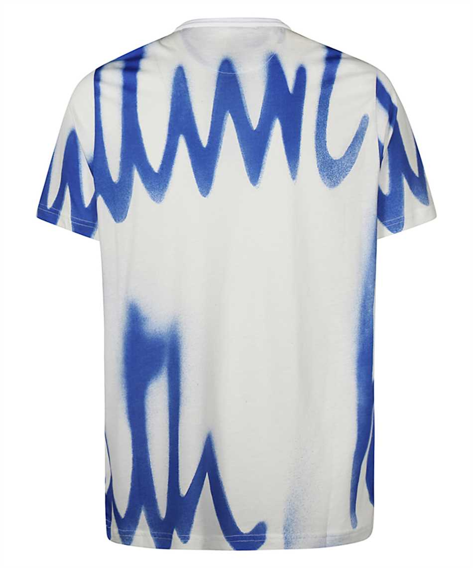 Paul Smith M1R 648U FP2689 SPRAY LOGO PRINT T-Shirt 2