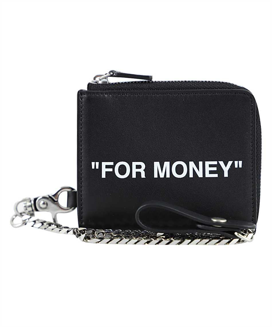 Off-White OMNC021F20LEA001 CHAIN Wallet 1