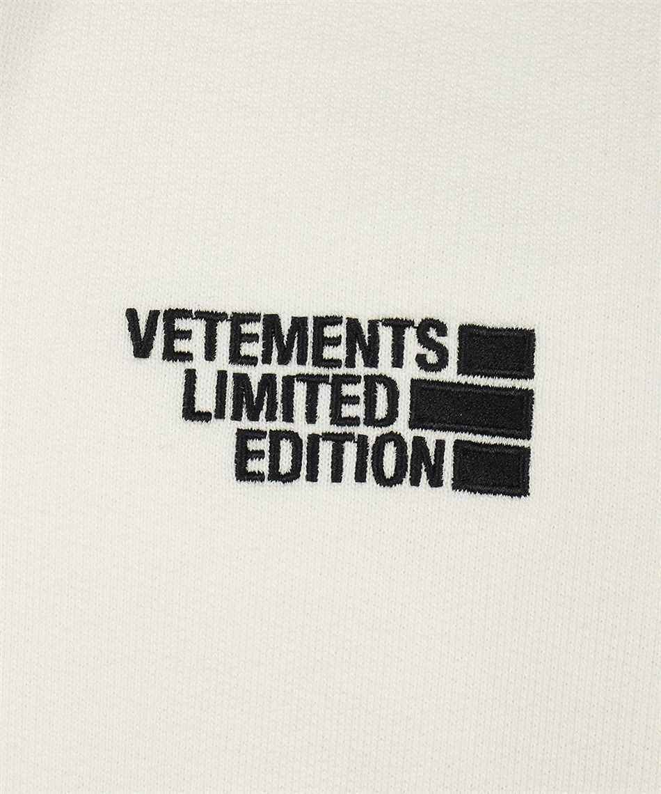 Vetements UE51TR730W LOGO LIMITED EDITION Mikina 3