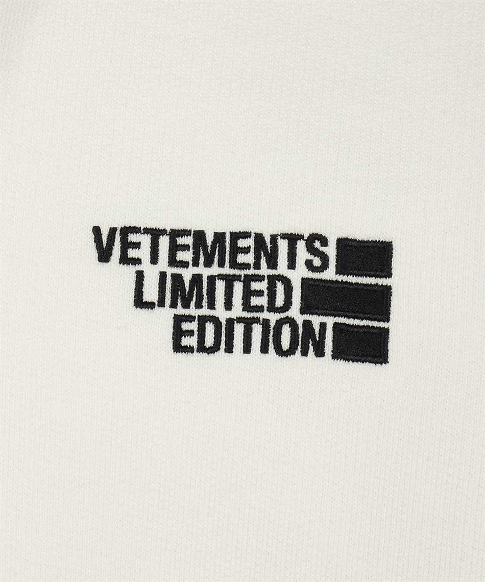 Vetements UE51TR730W LOGO LIMITED EDITION Kapuzen-Sweatshirt 3