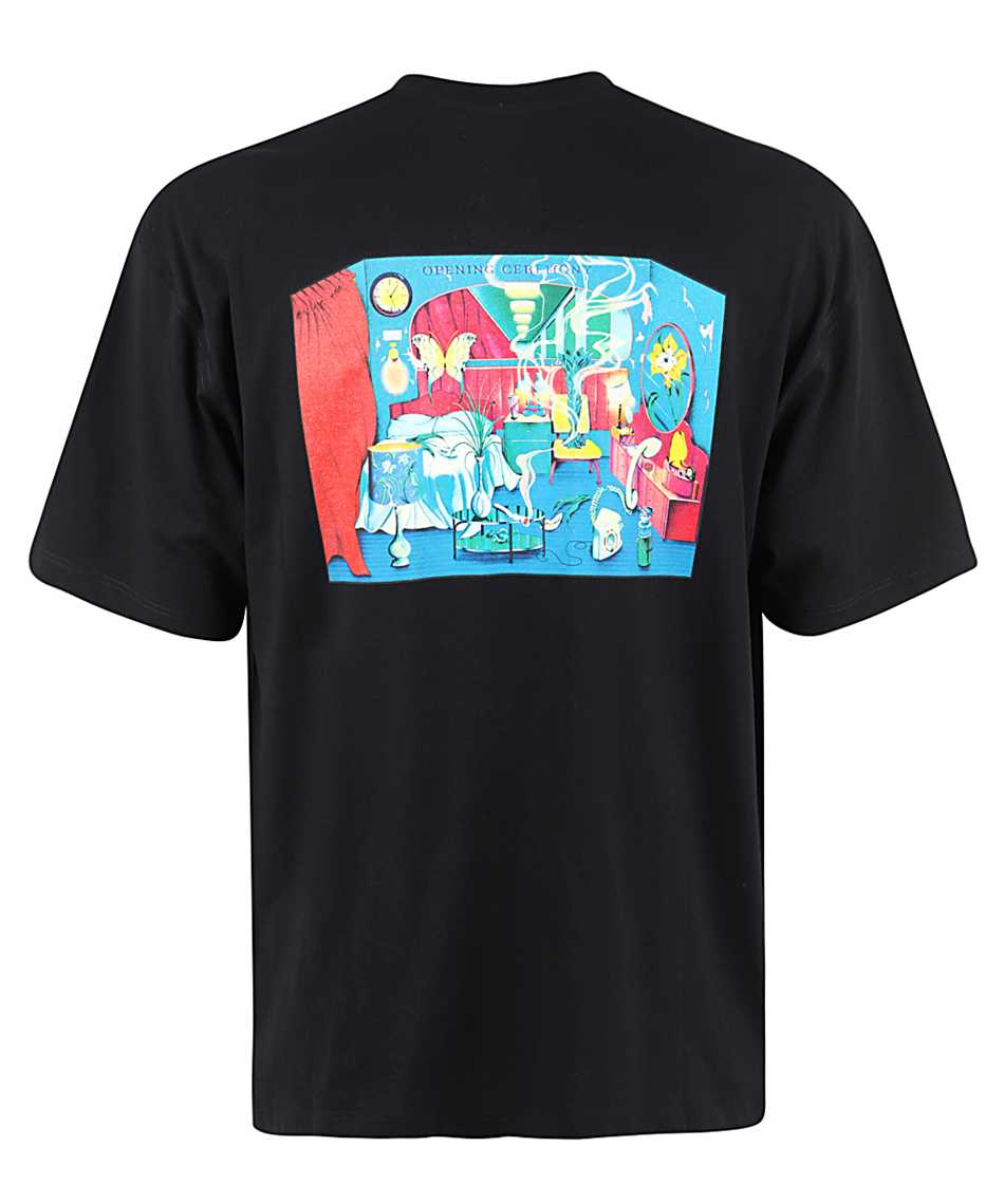 Opening Ceremony YMAA001F20JER003 ROOM PRINT T-shirt 2