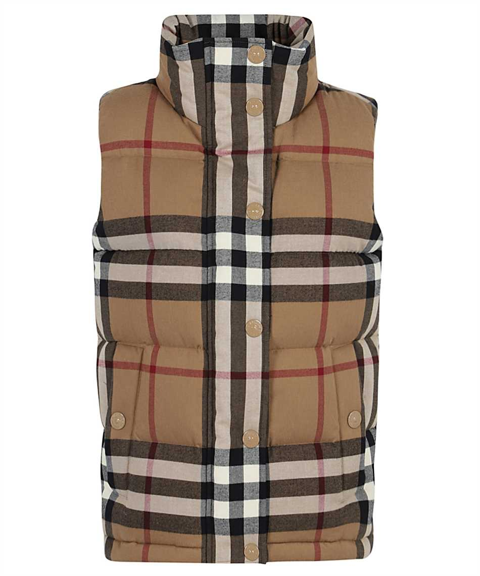 Burberry 8036135 CHECK COTTON FLANNEL PUFFER Weste 1