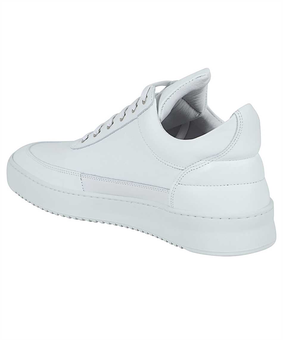 Filling Pieces 25121721855 LOW TOP RIPPLE NAPPA ALL WHITE Tenisky 3