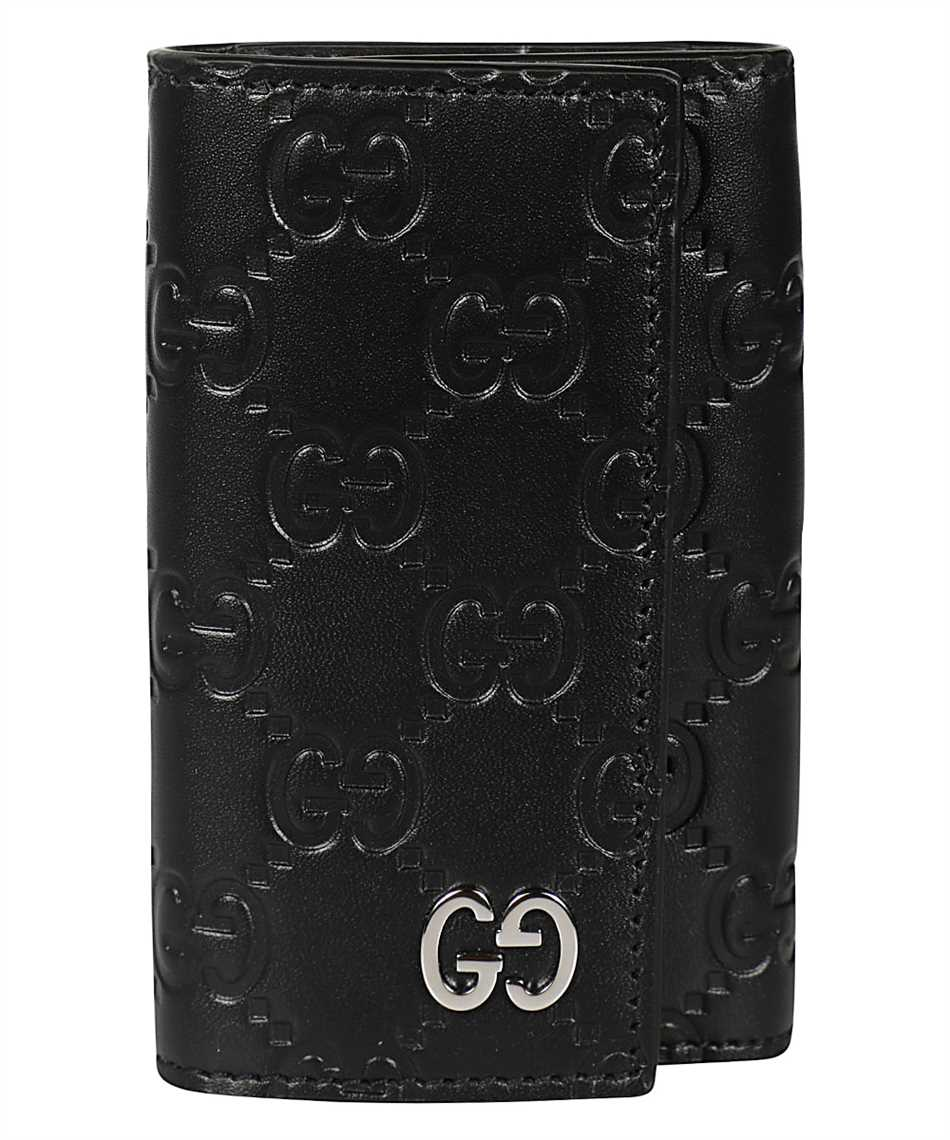 Gucci 473924 CWC1N GG EMBOSSED Key holder 1