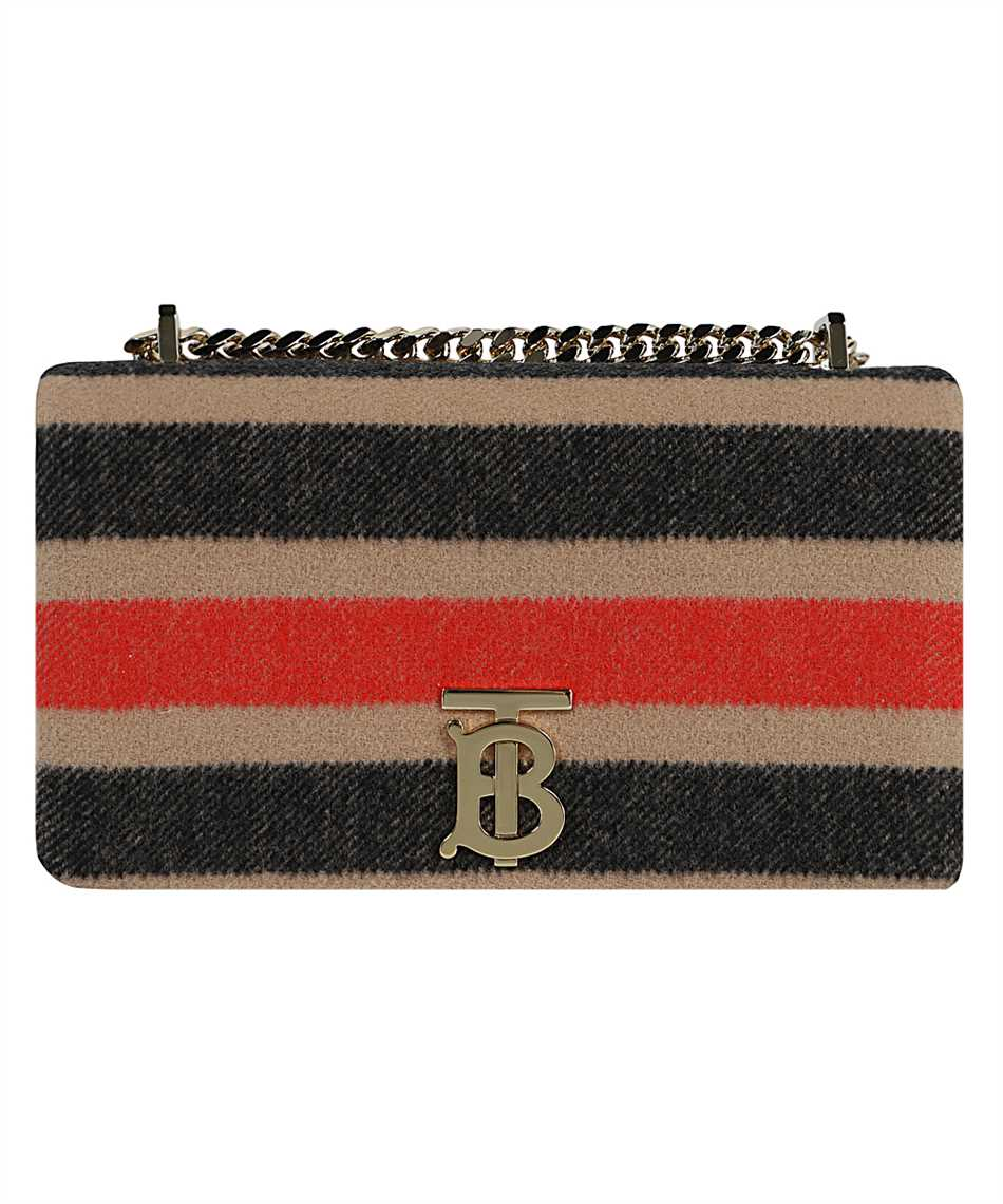 Burberry 8036797 SMALL STRIPED WOOL LOLA Bag 1