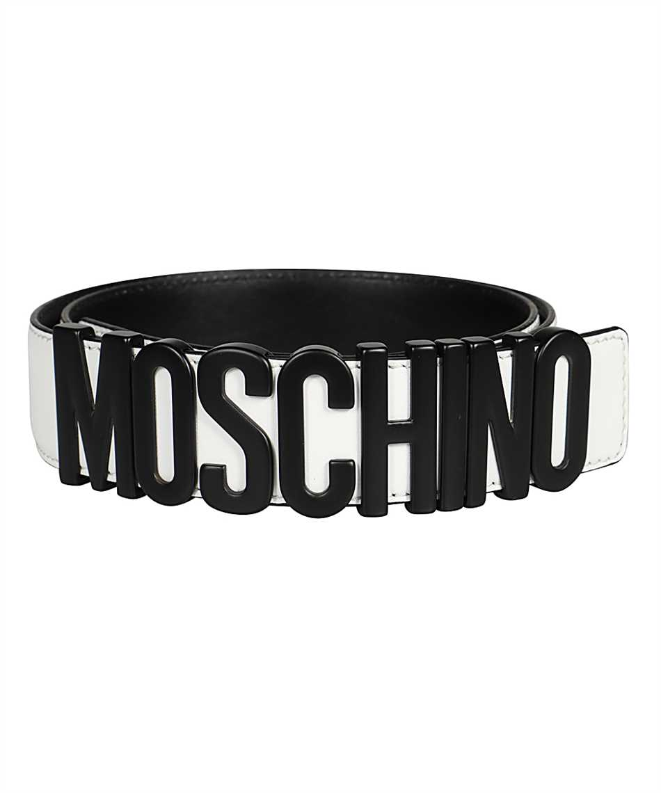 Moschino A8014 8001 LETTERING LOGO Gürtel 2