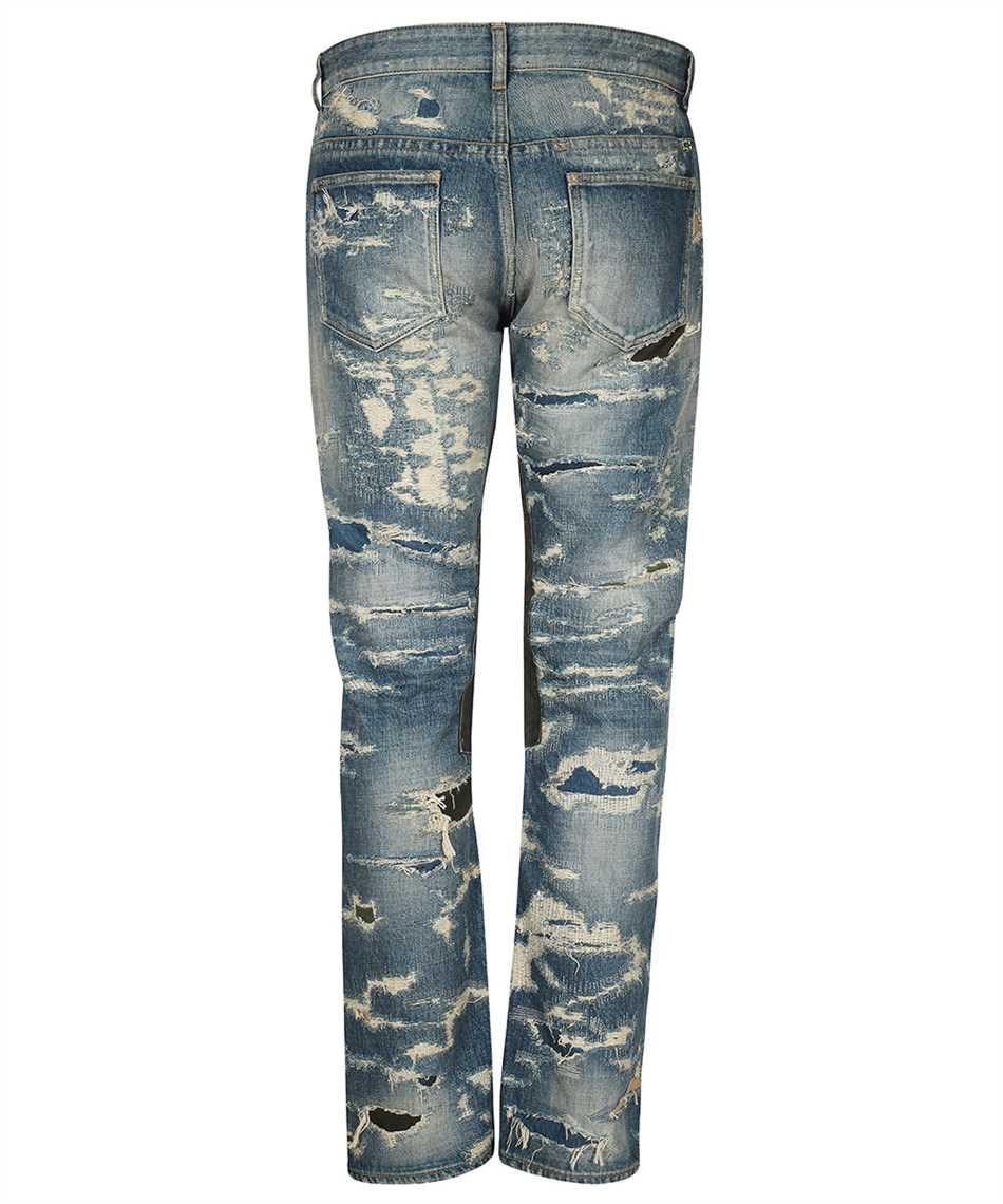 Givenchy BM50VH5Y1B VINTAGE DISTRESS MOLESKIN Jeans 2
