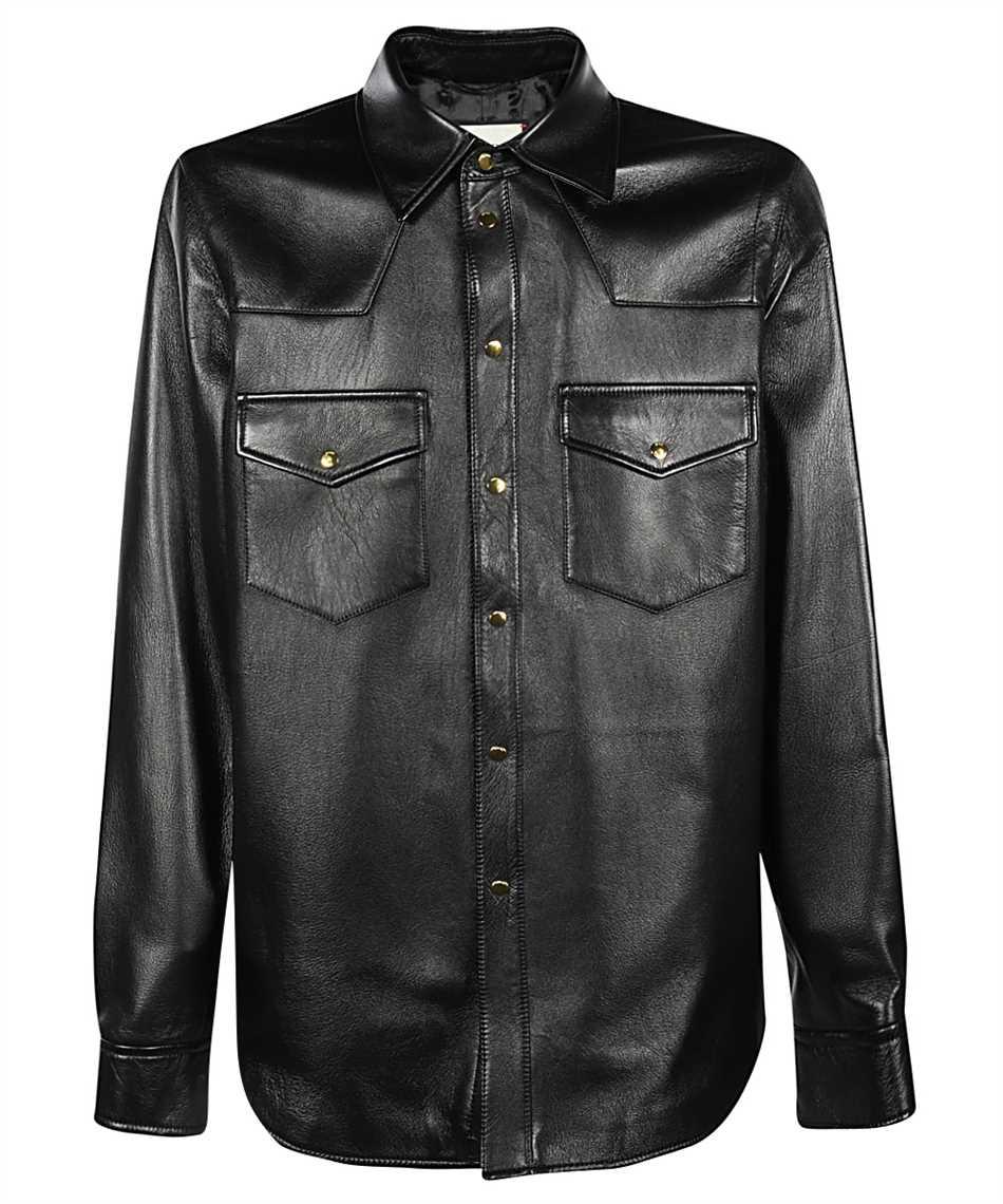 Gucci 624736 XNALJ LEATHER Shirt 1
