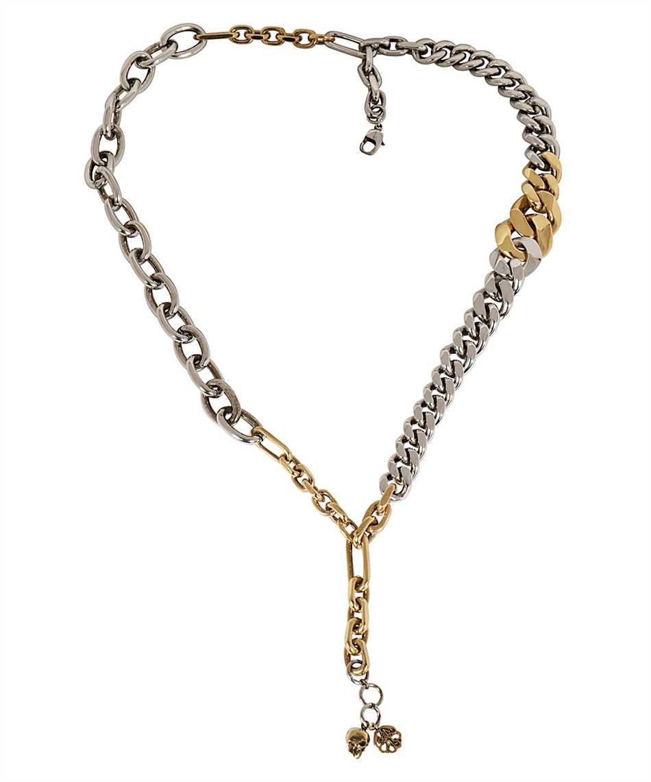 Alexander McQueen 660004 J160Z DOUBLE CHAIN Necklace 1