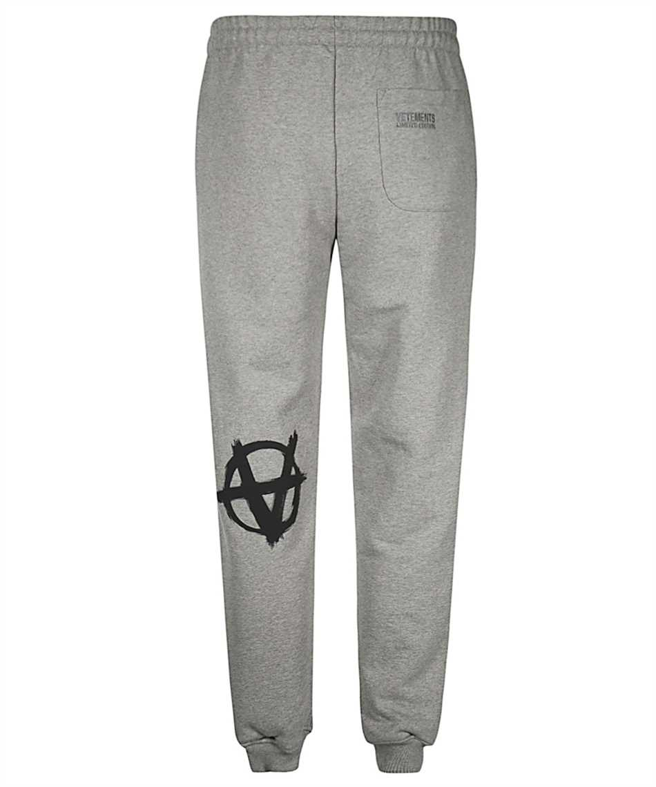 Vetements ME51PA820G ANARCHY GOTHIC LOGO Nohavice 2
