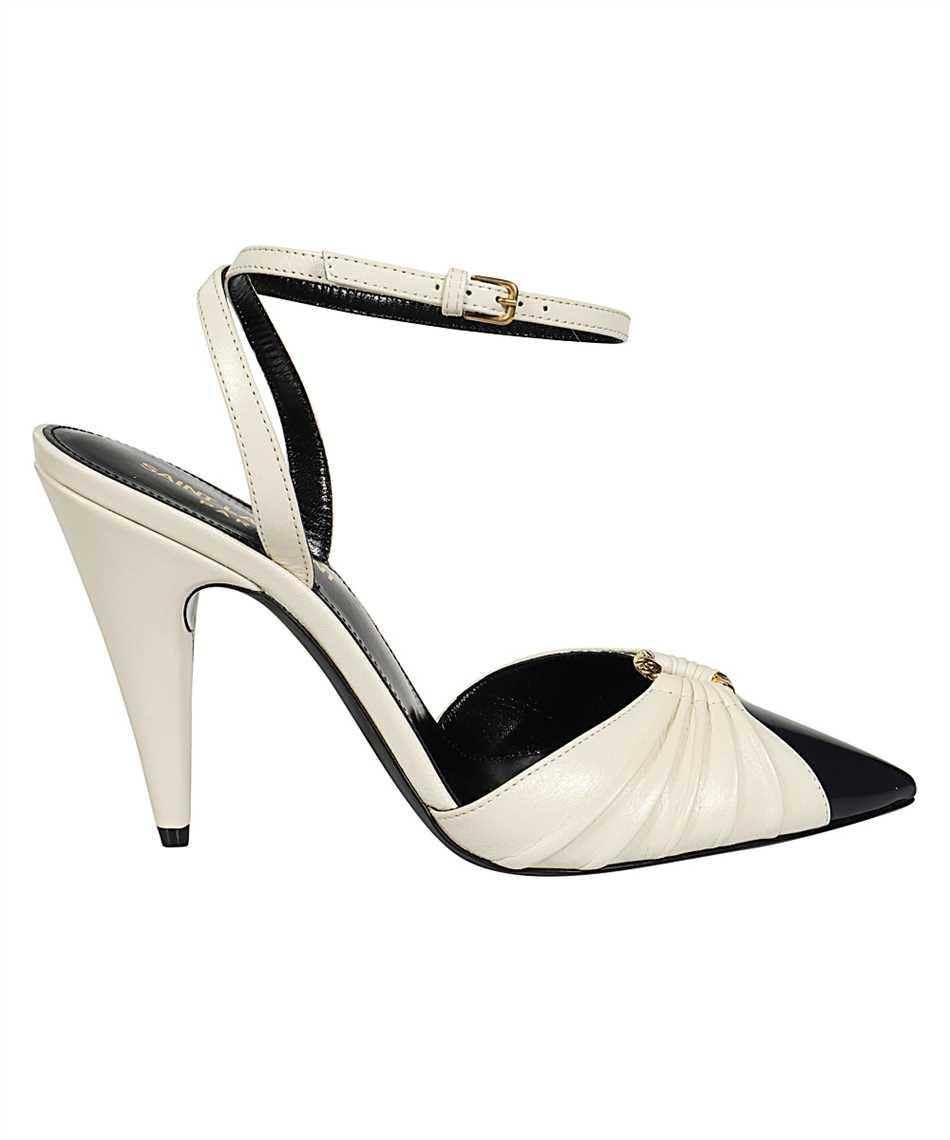 Saint Laurent 639528 1ZJ10 DIANE 95 RING Sandále 1