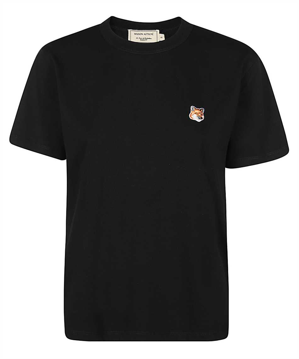 Maison Kitsune AW00103KJ0005 FOX HEAD PATCH CLASSIC T-Shirt 1