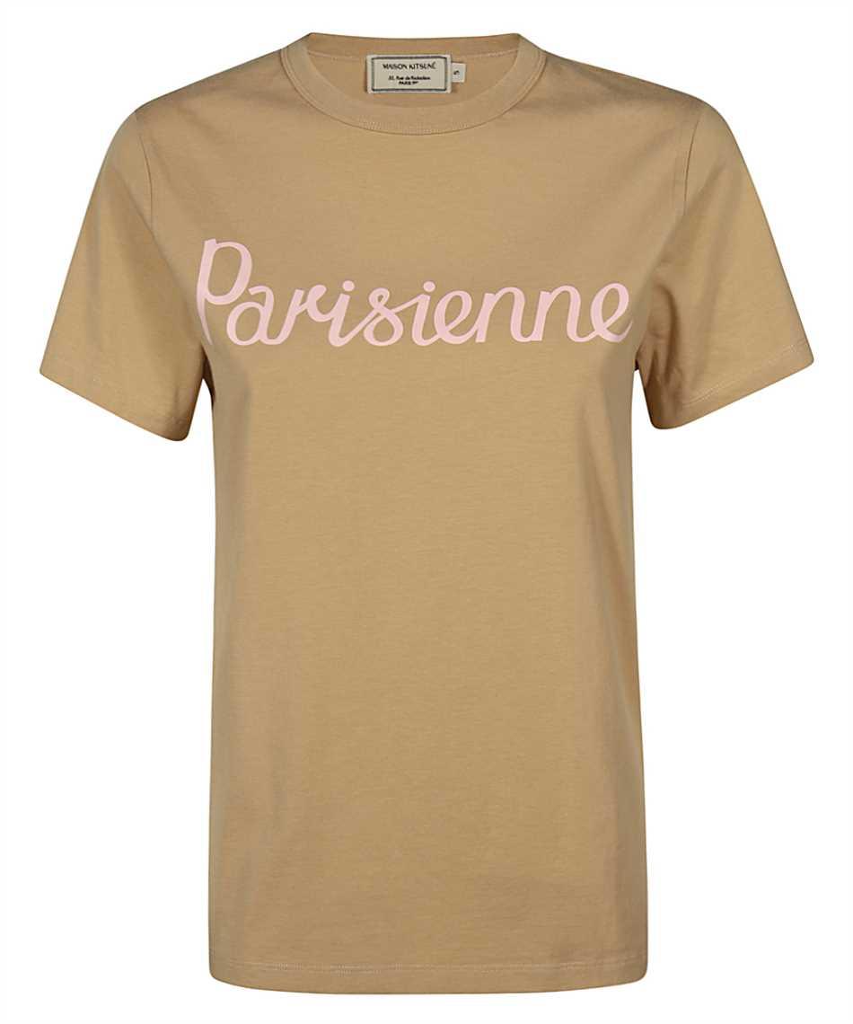 Maison Kitsune GW00125KJ0010 PARISIENNE CLASSIC T-shirt 1