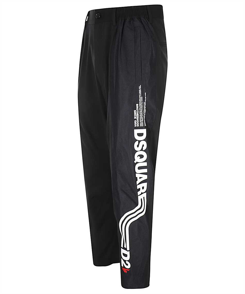Dsquared2 S74KB0550 S40320 WORSTED STRETCH D2LINE TIDY CARGO Trousers 3