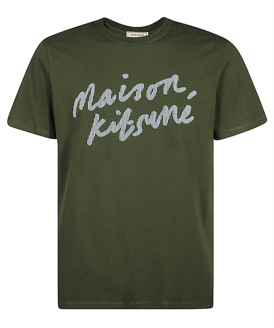 Maison Kitsune GM00113KJ0008 HANDWRITING CLASSIC T-Shirt 1