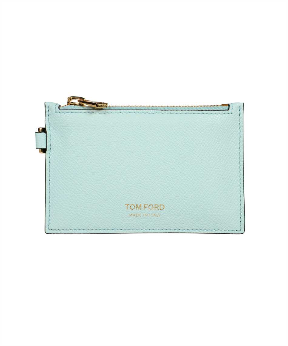 Tom Ford Y0313T LCL081 SMALL ZIP NECK STRAP Wallet 1