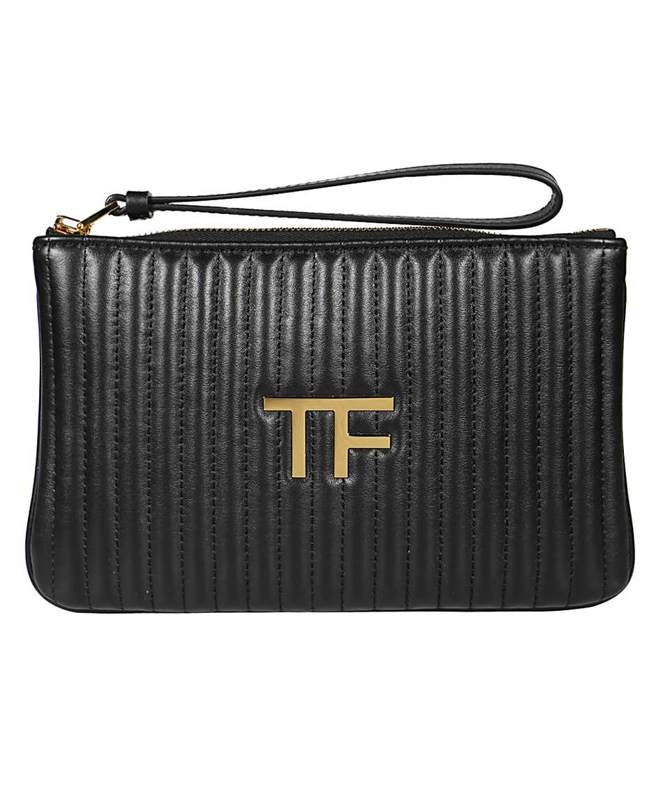 Tom Ford S0357T ICL019 QUILTED LEATHER TF POUCH Bag 1