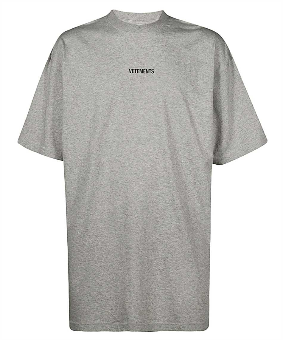 Vetements UE51TR540G LOGO PATCH T-Shirt 1