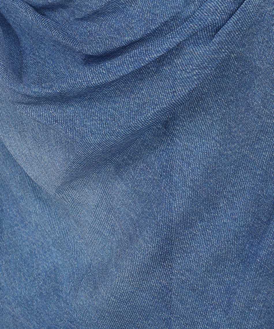 Balmain VF0RN040I667 LONG DENIM Kleid 3
