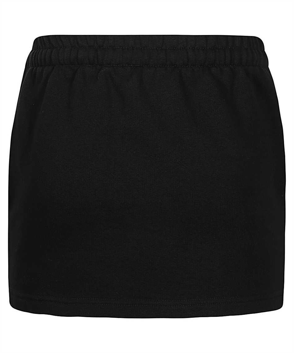 Vetements WE51SK100B LOGO TAPE MOLTON MINI Skirt 2