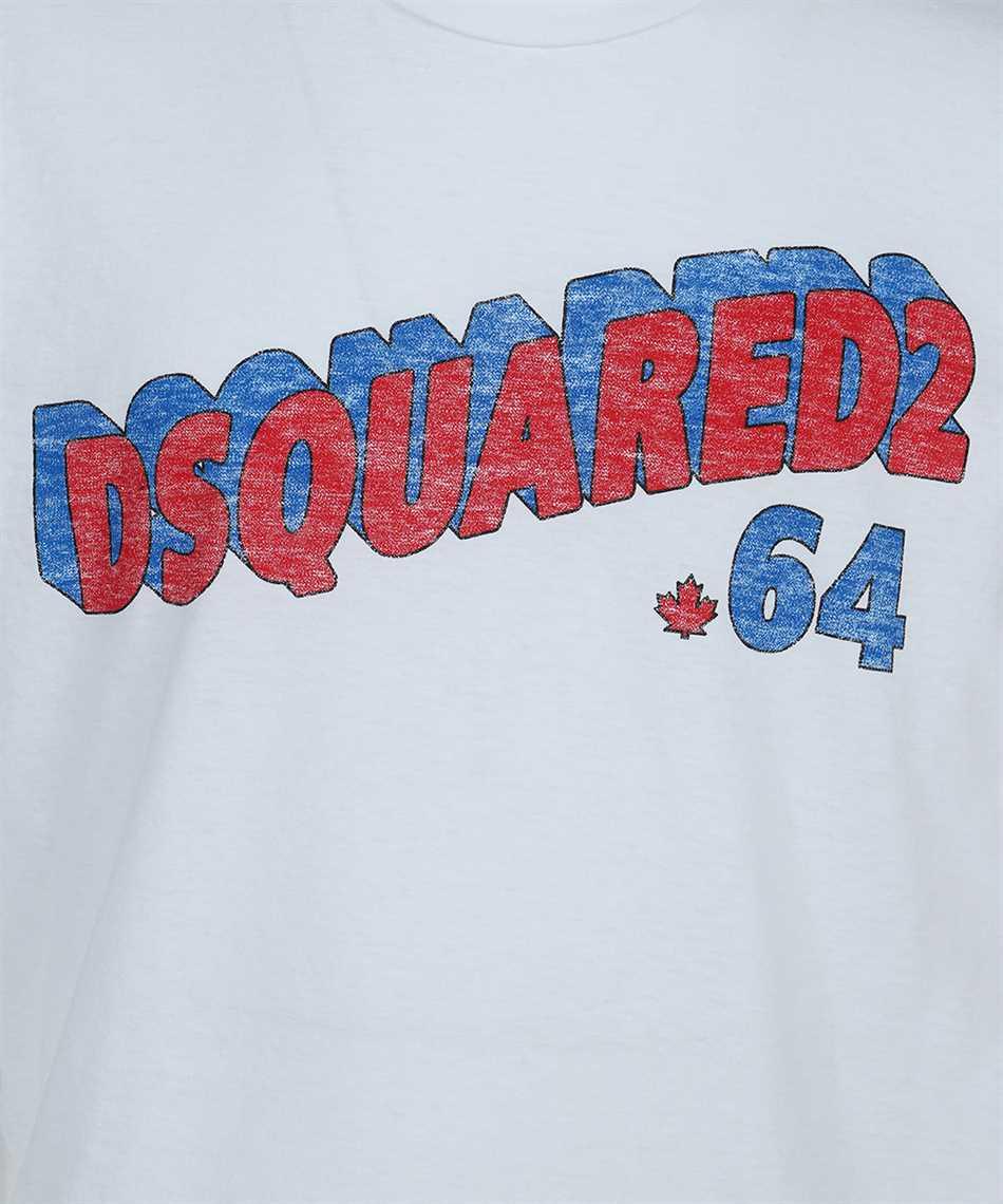 Dsquared2 S71GD1048 S22507 RETRO 64 Tričko 3