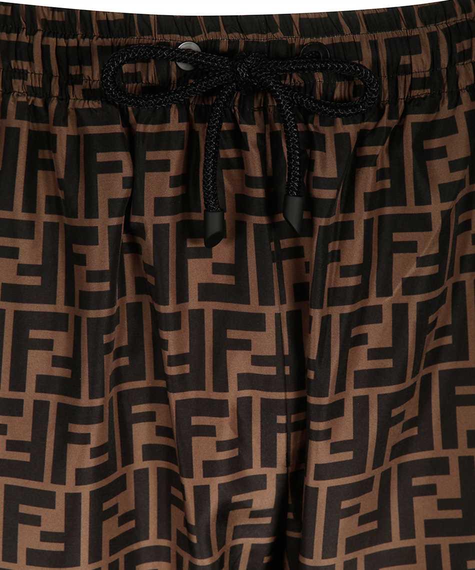 Fendi FAB527 A797 FF NYLON Trousers 3