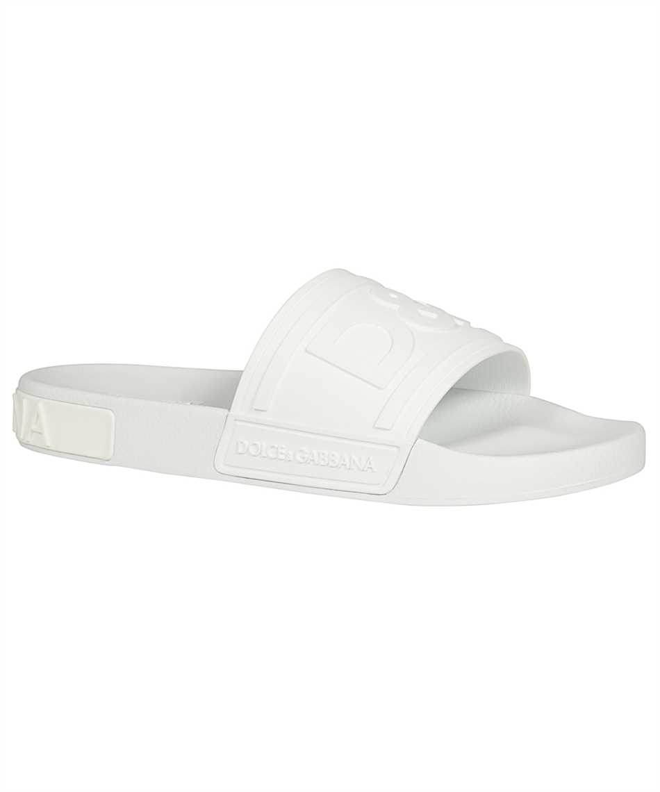 Dolce & Gabbana CS1786 AX389 RUBBER BEACHWEAR WITH D&G LOGO Slides 2