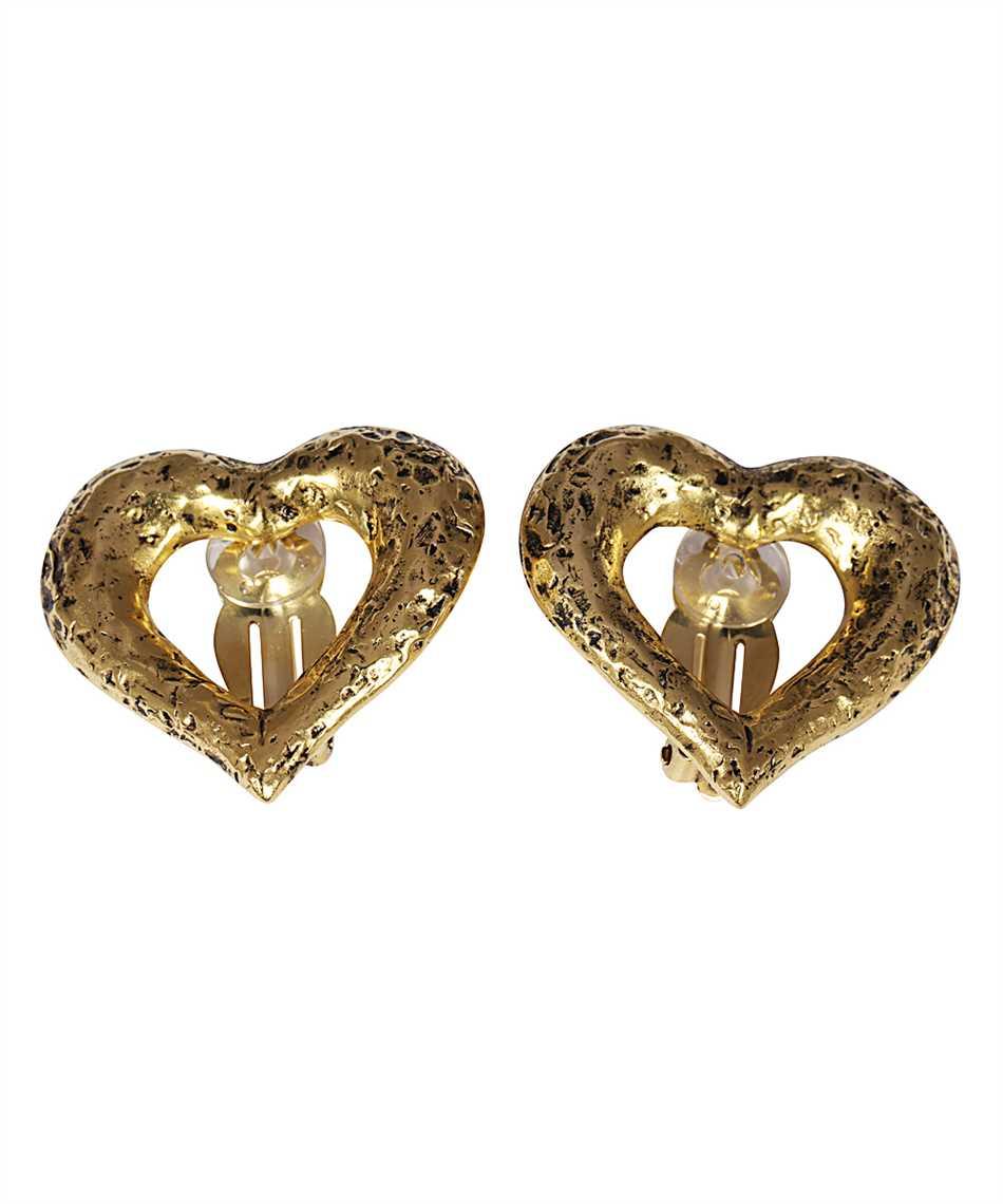 Saint Laurent 635644 Y1500 HEART Earrings 1