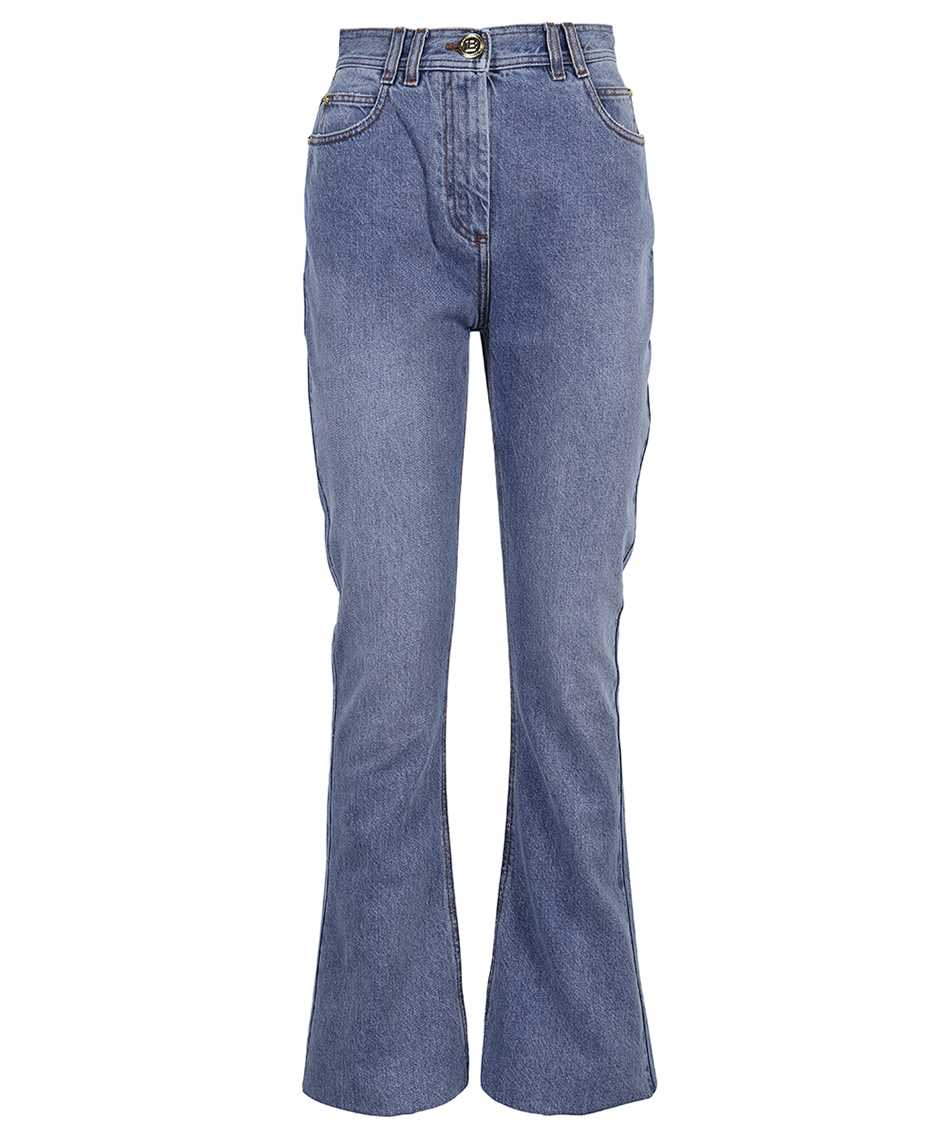 Balmain VF0MJ025D113 HIGH WAIST BOOTCUT Jeans 1