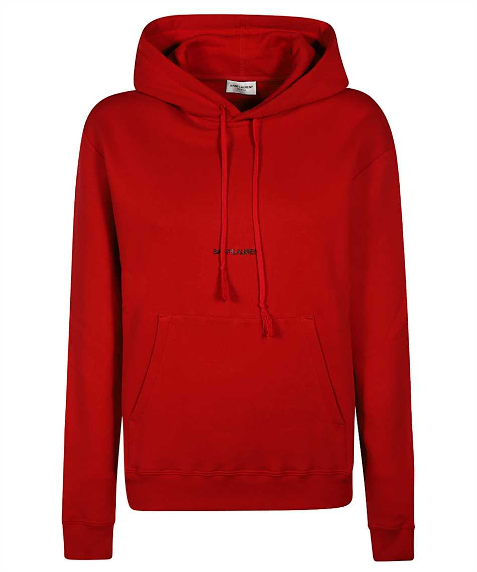 Saint Laurent 641193 YBQZ2 LOGO Kapuzen-Sweatshirt 1