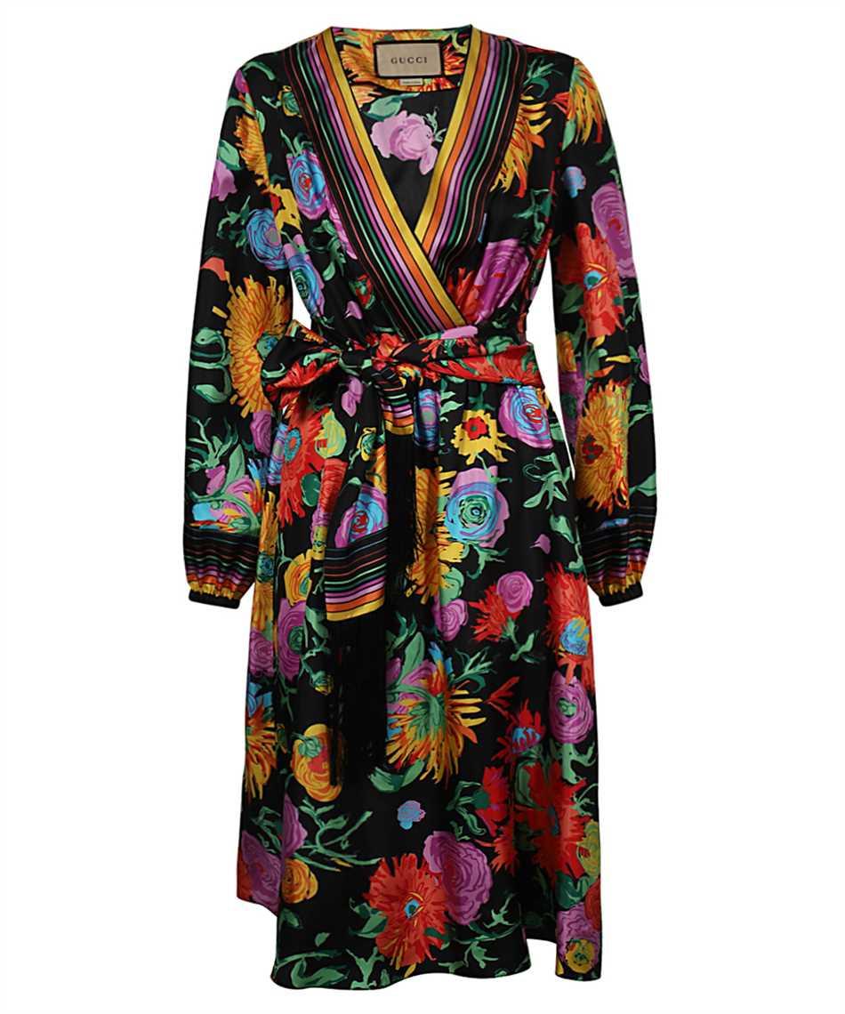 Gucci 650508 ZAGJU FLORAL Dress 1