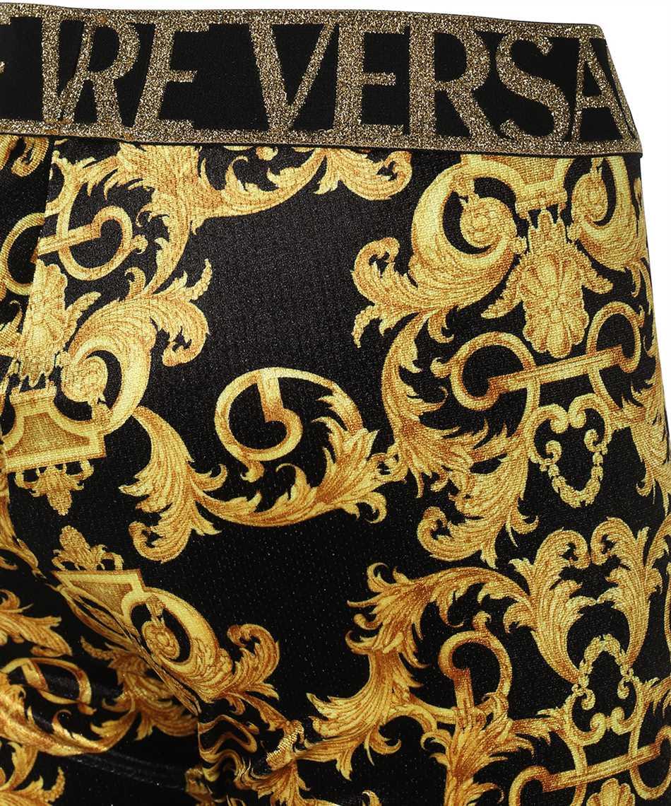 Versace Jeans Couture D5HWA101 S0034 VELVET BAROQE PRINT Nohavice 3