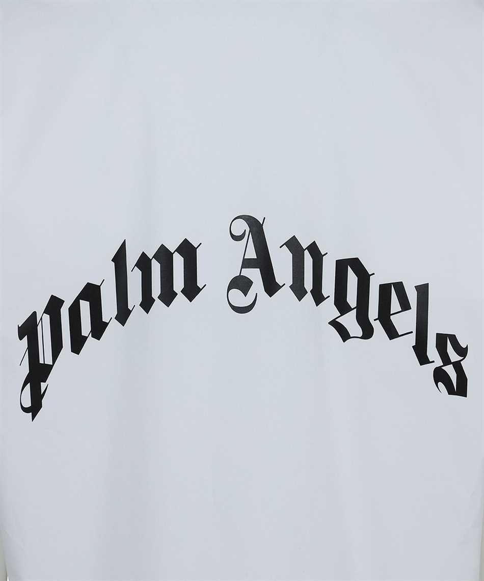 Palm Angels PMGA037S21FAB006 CURVED LOGO BOWLING Shirt 3