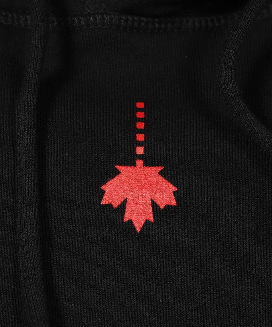 Dsquared2 S71GU0439 S25042 DROPPED LEAF Kapuzen-Sweatshirt 3