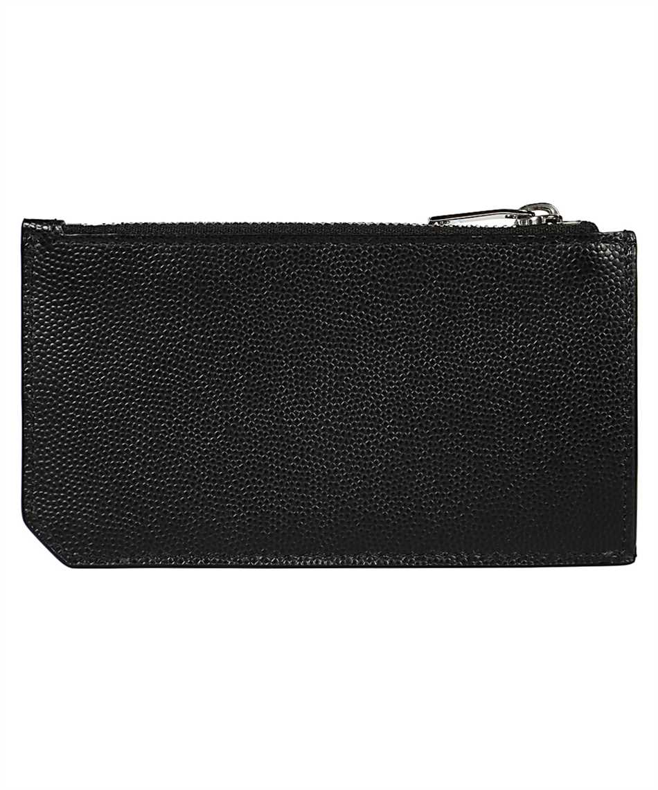 Saint Laurent 609362 BTY0N FRAGMENT ZIPPED Púzdro na karty 2