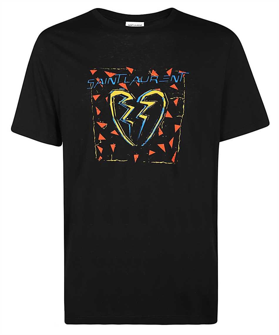 Saint Laurent 631805 YBVV2 BROKEN HEART Tričko 1