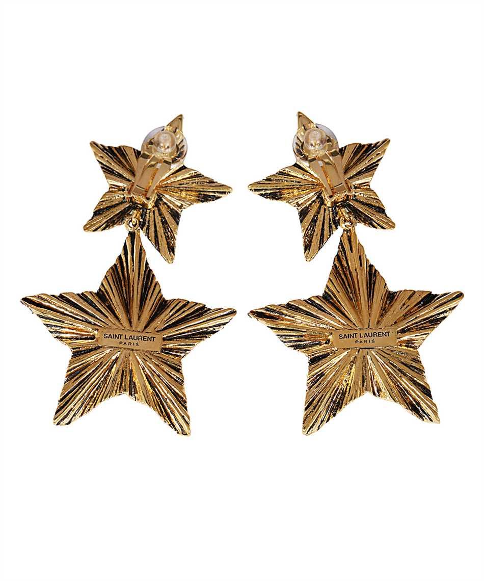 Saint Laurent 633473 Y1500 2 STARS Earrings 2