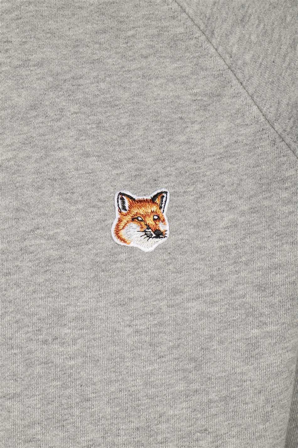 Maison Kitsune AM00303KM0001 FOX HEAD PATCH CLASSIC Mikina 3