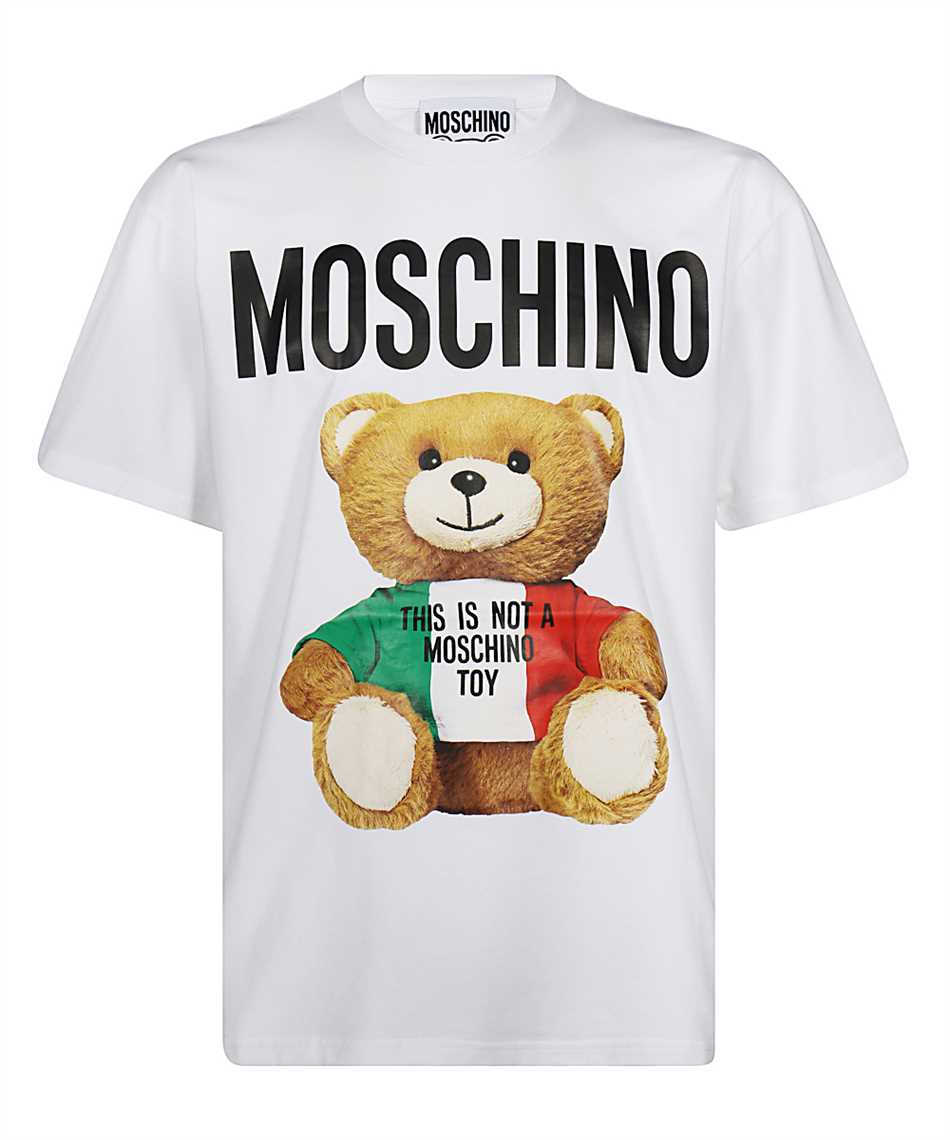 Moschino V0721 2040 ITALIAN TEDDY BEAR T-Shirt 1