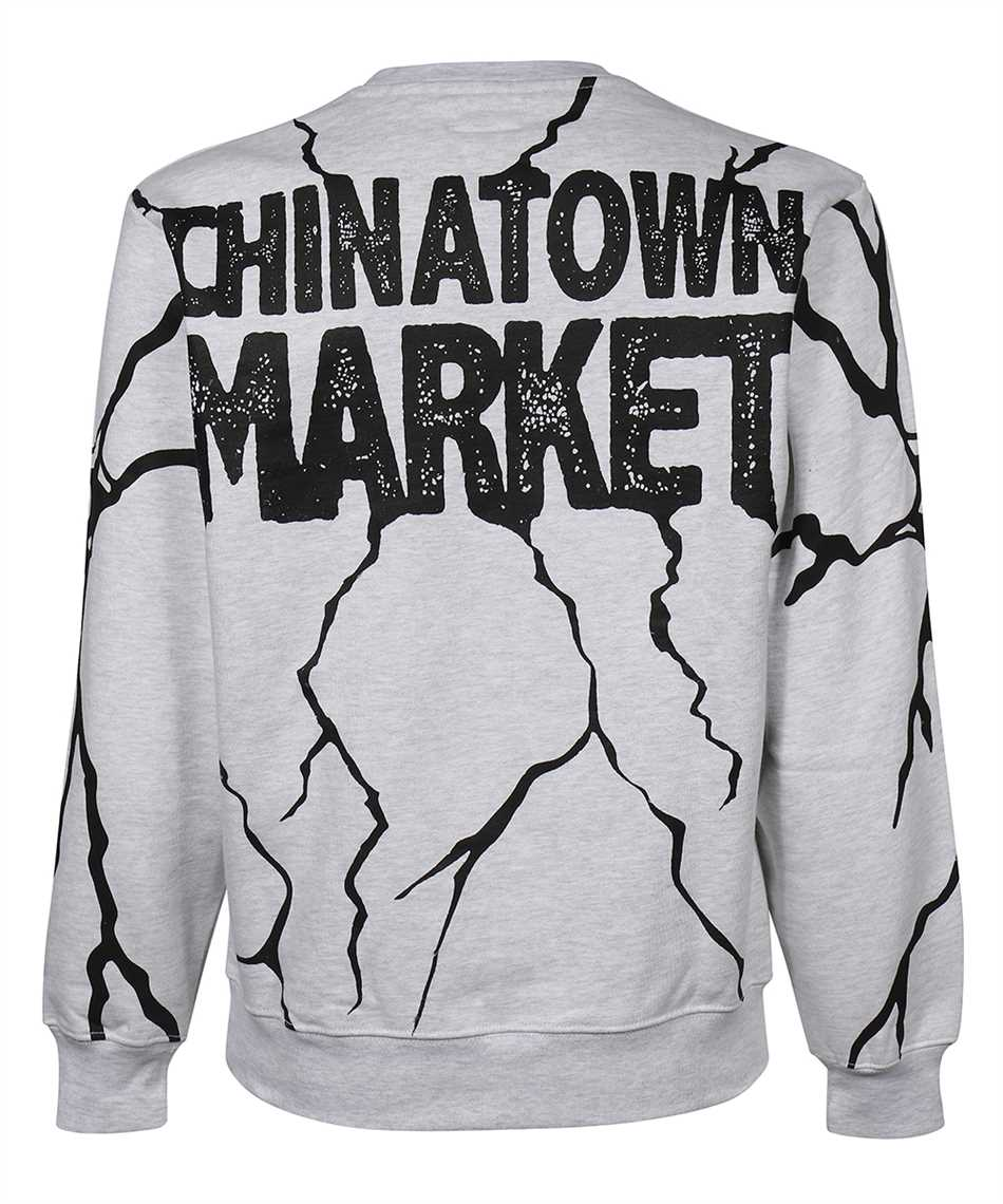 Chinatown Market 1960052 SMILEY DRY WALL BREAKER Sweatshirt 2