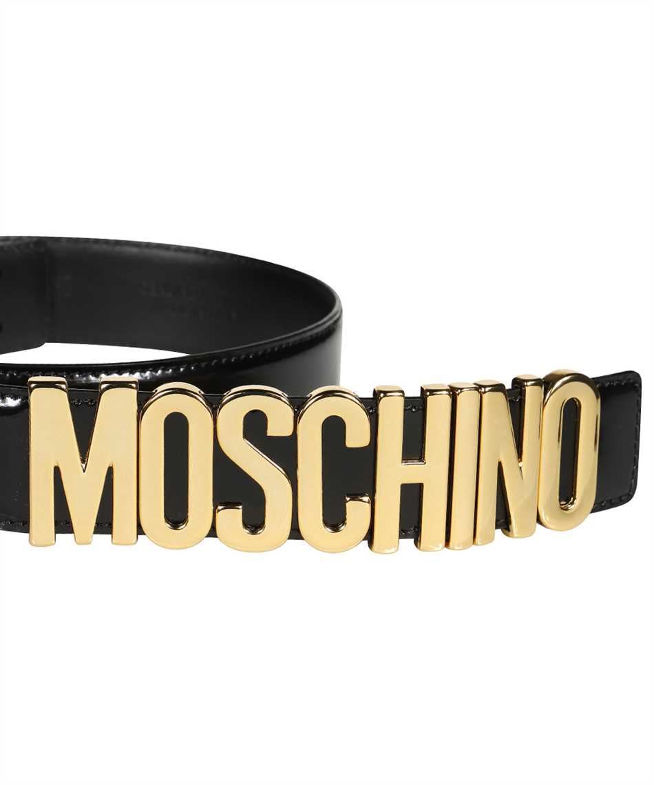 Moschino A8012 8007 LETTERING LOGO Belt 3