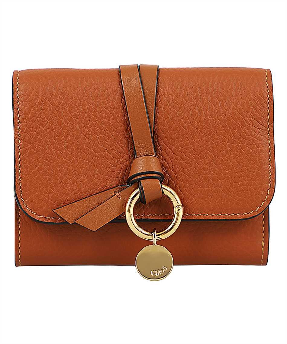 Chloé CHC17UP718H9Q ALPHABET SMALL TRI-FOLD Wallet 1