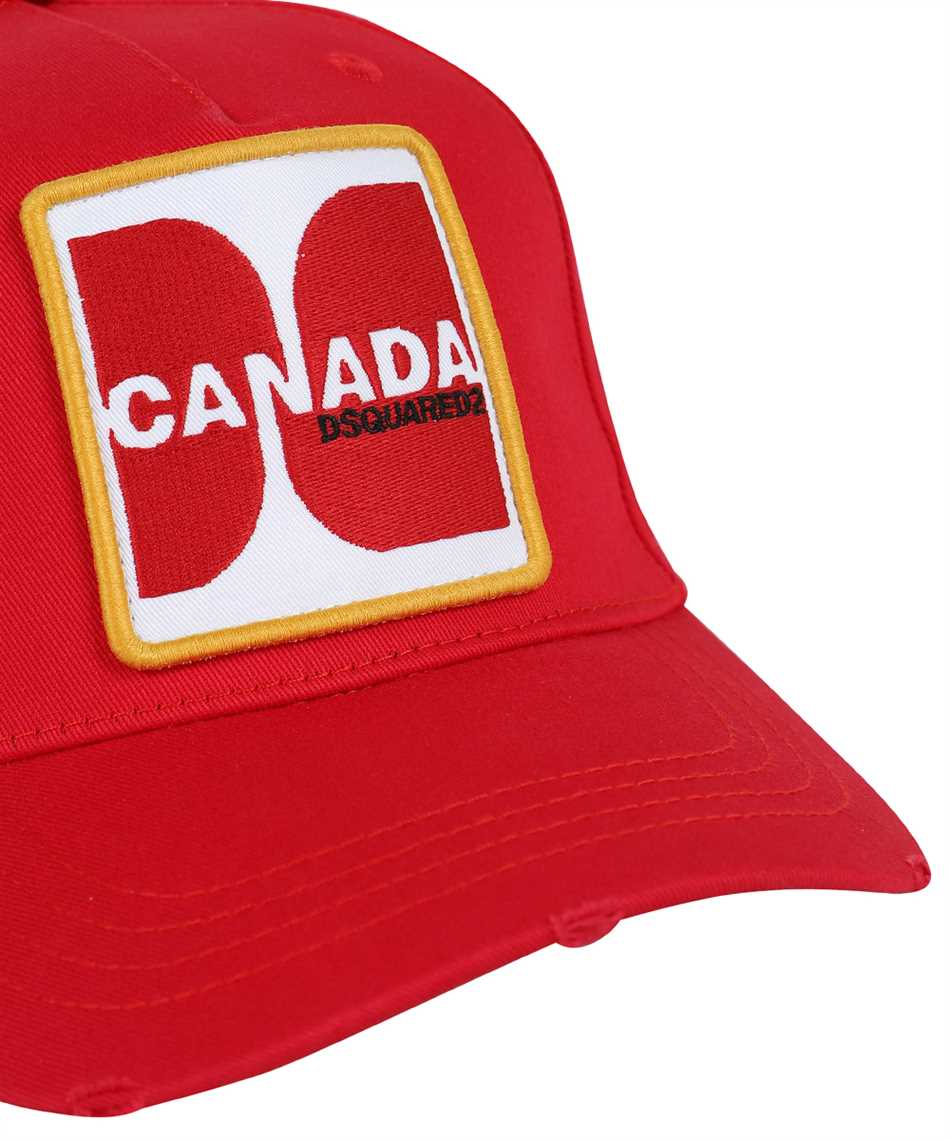 Dsquared2 BCM0415 05C00001 CANADA PATCH Cap 3