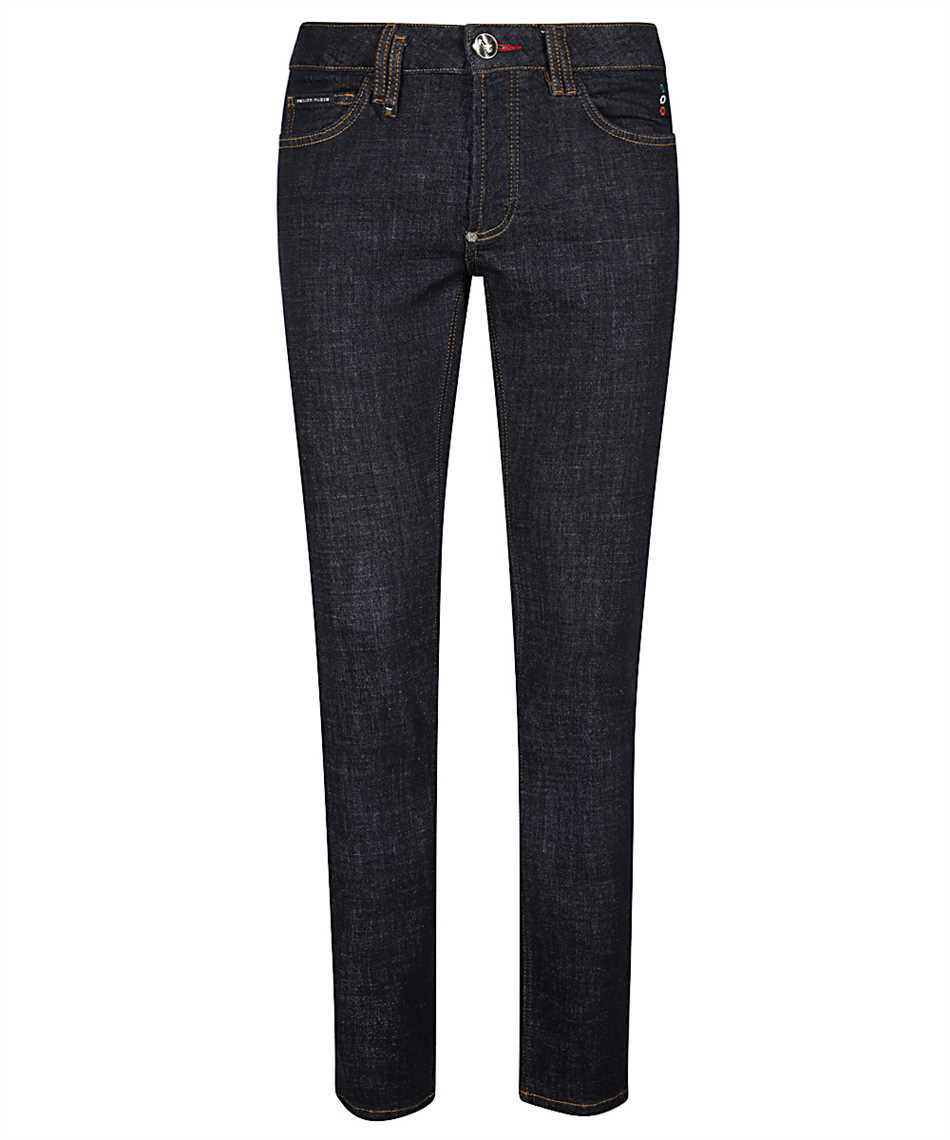 Philipp Plein F20C MDT2281 PDE004N SUPER STRAIGHT Jeans 1