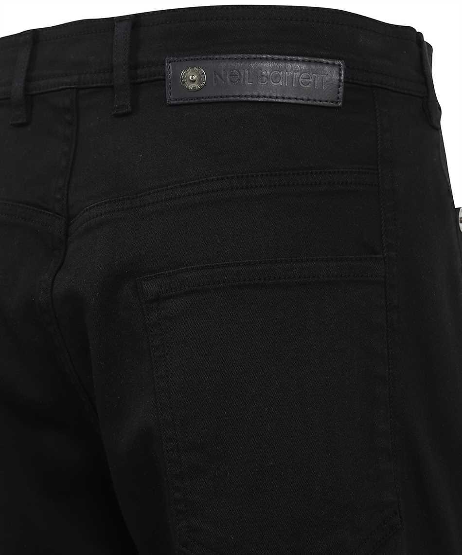 Neil Barrett PBDE326 Q815T EXTRA LOW RISE DENIM Shorts 3