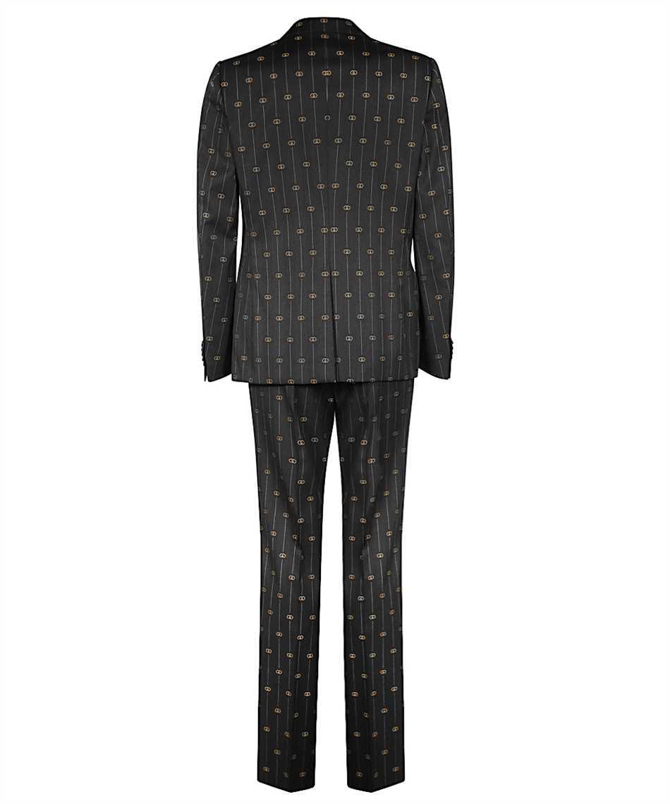 Gucci 630155 ZAD99 HERITAGE INTERLOCKING G STRIPE Oblek 2