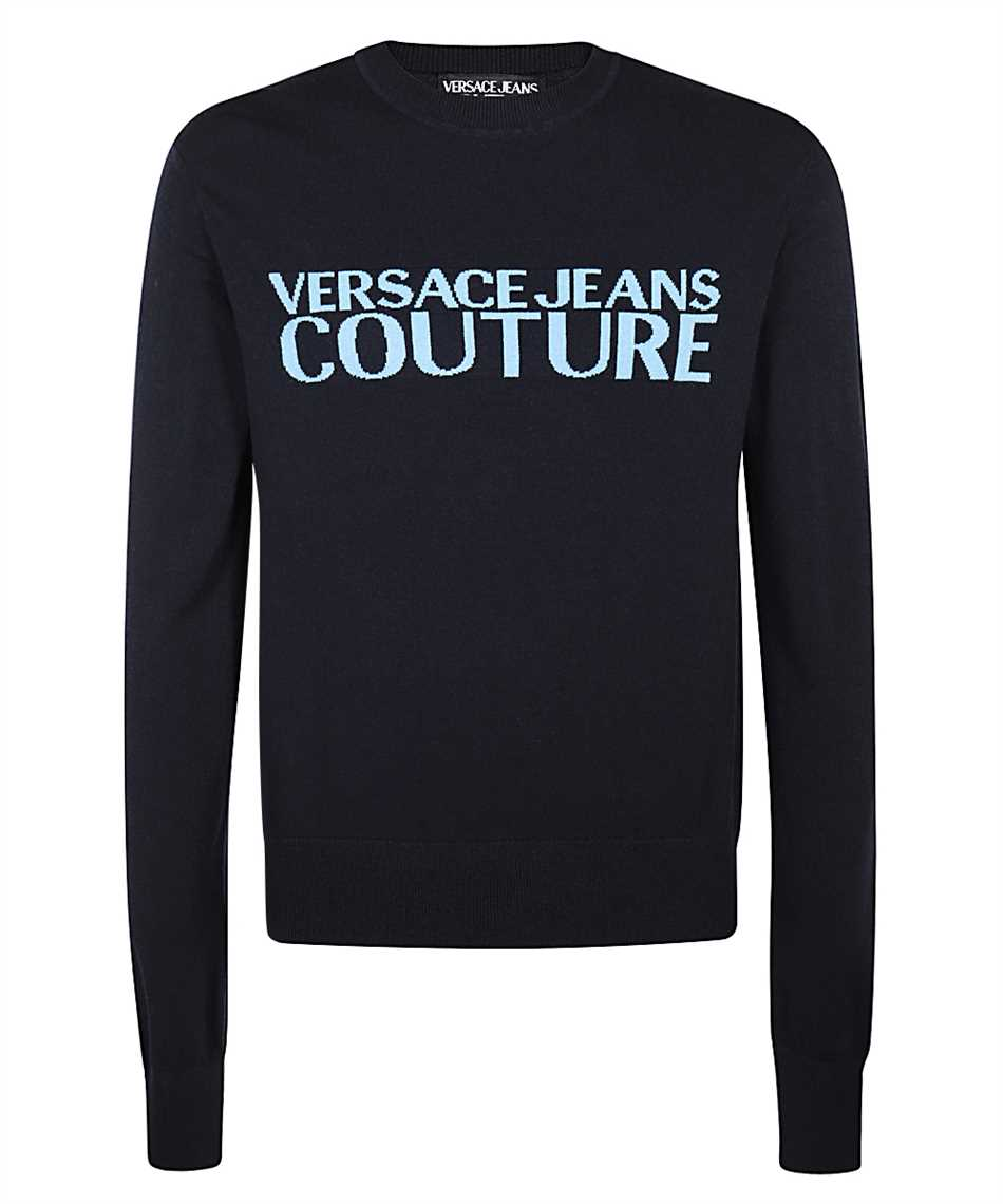 Versace Jeans Couture B5GZB802 50248 LOGO Pulóver 1